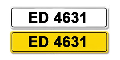 Lot 2 - Registration Number ED 4631