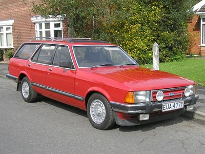 Lot 17-1982 Ford Granada 2.8 Ghia Estate