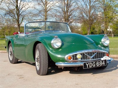 Lot 58-1960 Daimler SP250 Dart