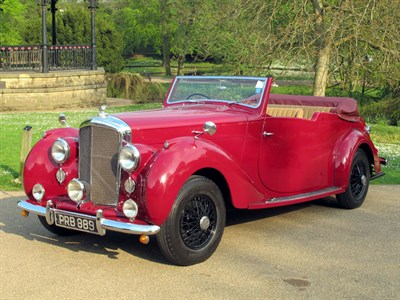 Lot 31-1950 Bentley MK VI Tourer