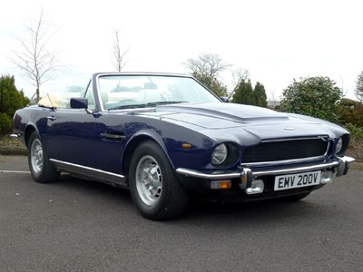 Lot 44-1979 Aston Martin V8 Volante