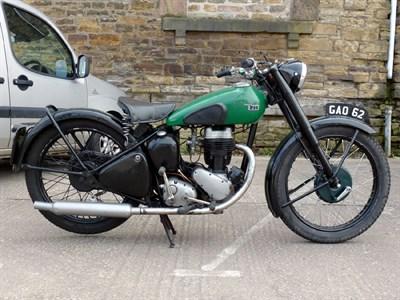 Lot 1 - 1947 BSA C11