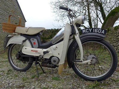 Lot 41-1963 Raleigh RM5 Supermatic