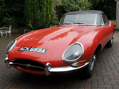 Lot 45 - 1963 Jaguar E-Type 3.8 Roadster