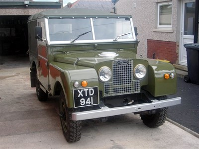 Lot 5-1956 Land Rover 86