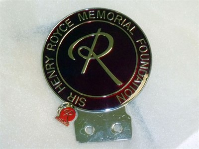 Lot 3 - Sir Henry Royce Memorial Foundation Badge