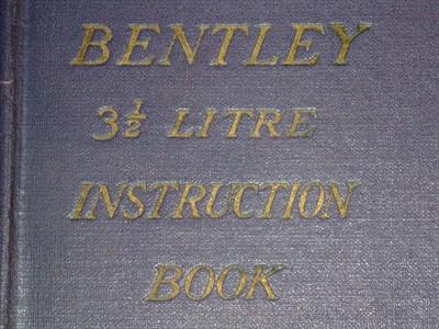 Lot 11 - Derby Bentley Handbook