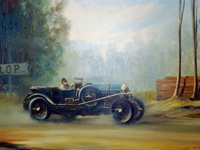 Lot 13 - 'Le Mans 1927' Artwork by Pears