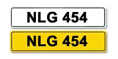 Lot 21 - Registration Number NLG 454