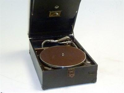 Lot 27 - An HMV Gramophone