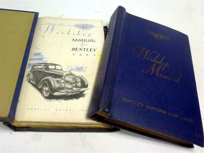 Lot 43 - Bentley Mk.VI Workshop Manuals