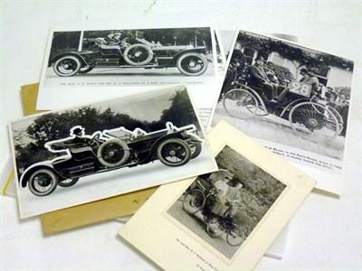 Lot 53 - 1910 Rolls-Royce Silver Ghost 'Balloon Car' Photograph