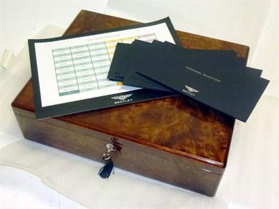 Lot 6 - Bentley Motors Sample Case