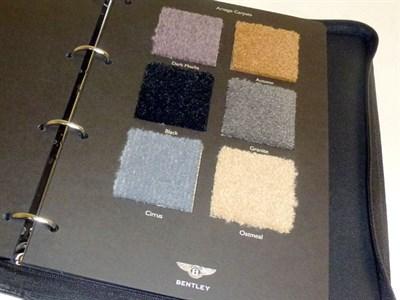 Lot 8 - Bentley Arnage Specification Selector Kit