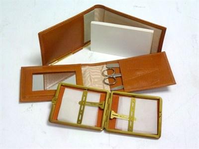 Lot 16 - Set of 3 Mulliner Park Ward Pigskin Accessories