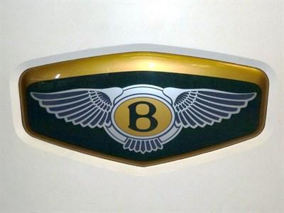 Lot 18 - Bentley Motors Corporate Showroom Sign
