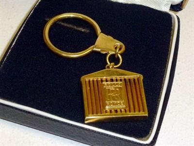 Lot 38 - Gold Rolls-Royce Key Ring Fob