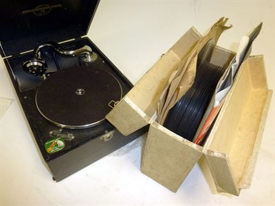 Lot 69 - A Wind-up Record Player