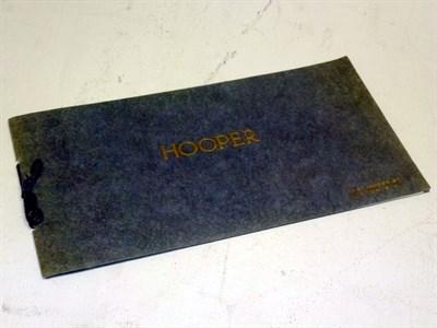 Lot 86 - Hooper Coachworks Catalogue