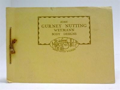 Lot 90 - Gurney Nutting Weymann Sales Brochure