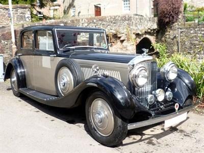 Lot 3 - 1935 Bentley 3.5 Litre Saloon