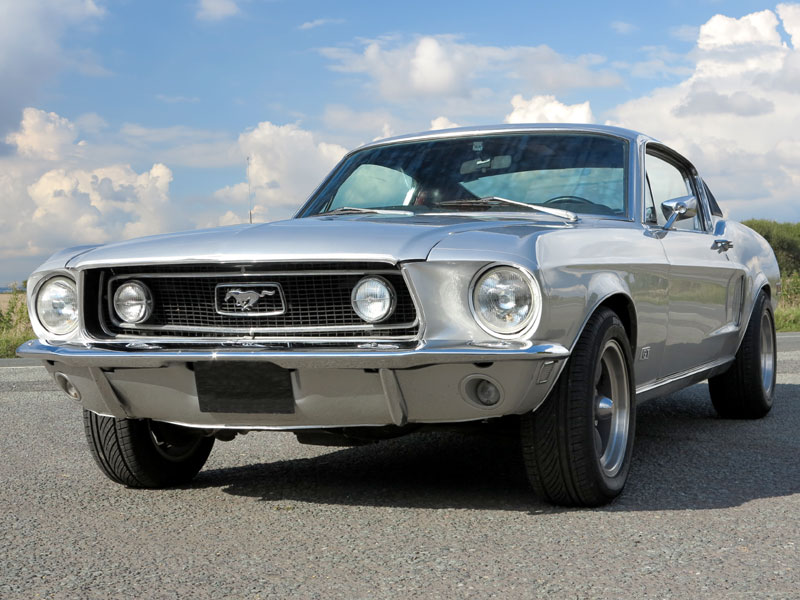 Lot 92-1968 Ford Mustang 390 GT Fastback