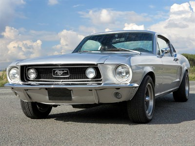 Lot 92 - 1968 Ford Mustang 390 GT Fastback