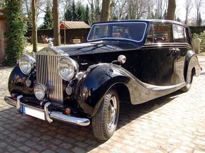 Lot 23 - 1951 Rolls-Royce Silver Wraith Limousine