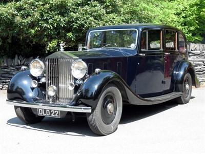 Lot 22 - 1937 Rolls-Royce Phantom III Limousine