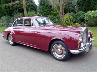 Lot 18 - 1964 Rolls-Royce Silver Cloud III Sports Saloon