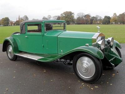 Lot 29 - 1929 Rolls-Royce Phantom II Short-Coupled Saloon