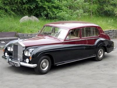 Lot 25 - 1963 Rolls-Royce Phantom V Limousine