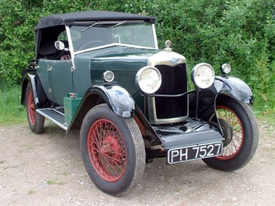 Lot 23 - 1928 Riley 9 Tourer