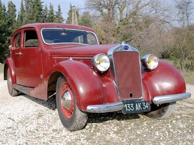 Lot 47 - 1937 Delage D6-70 Saloon