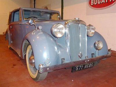 Lot 46-1948 Daimler DB18 Foursome Drophead Coupe