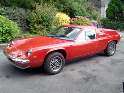Lot 19 - 1971 Lotus Europa Twin Cam
