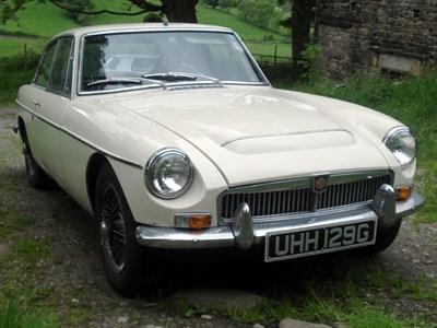 Lot 54 - 1969 MG C GT
