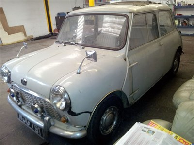 Lot 2 - 1961 Austin Seven Mini