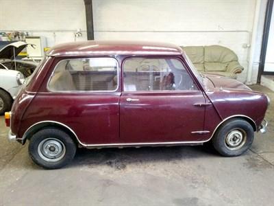 Lot 16 - 1964 Austin Mini 850