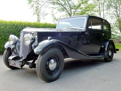 Lot 31 - 1936 Railton Straight Eight Ranalah Coupe