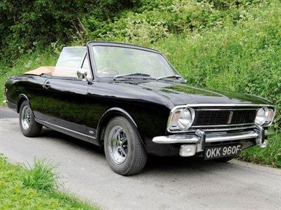 Lot 65 - 1968 Ford Cortina Lotus MKII Convertible