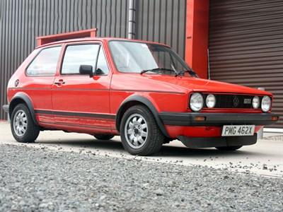 Lot 4 - 1982 Volkswagen Golf GTi