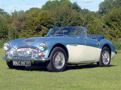 Lot 23 - 1967 Austin-Healey 3000 MKIII