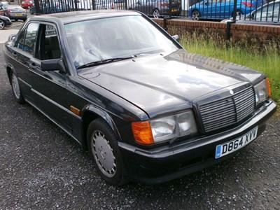 Lot 11 - 1987 Mercedes-Benz 190 E 2.3-16