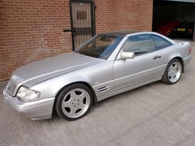 Lot 18 - 1997 Mercedes-Benz SL 500