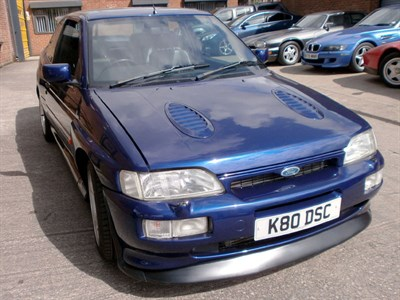 Lot 12-1993 Ford Escort RS Cosworth