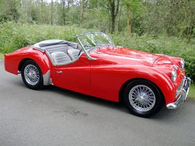Lot 24 - 1958 Triumph TR3A
