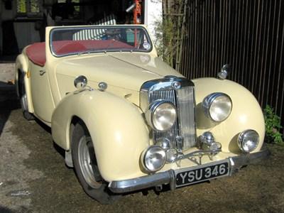 Lot 27 - 1949 Triumph 2000 Roadster