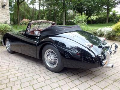 Lot 32 - 1954 Jaguar XK120 Drophead Coupe