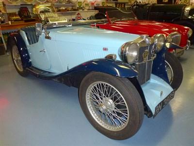 Lot 25 - 1934 MG PA